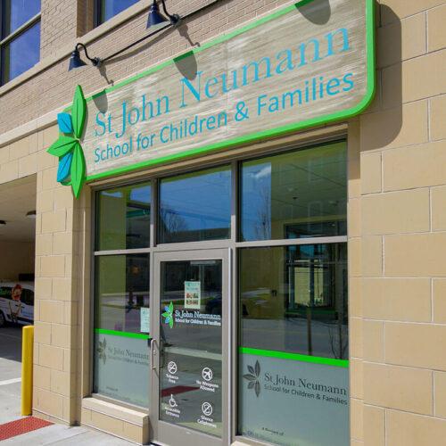St Jon Neumann School building